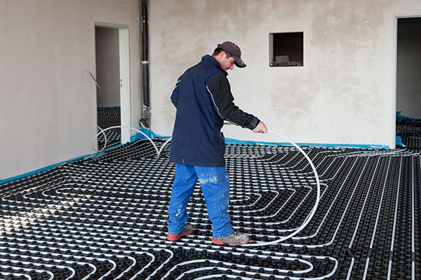 Hydronic Heating Installation