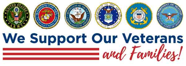 We Support Our Veterans and Families!